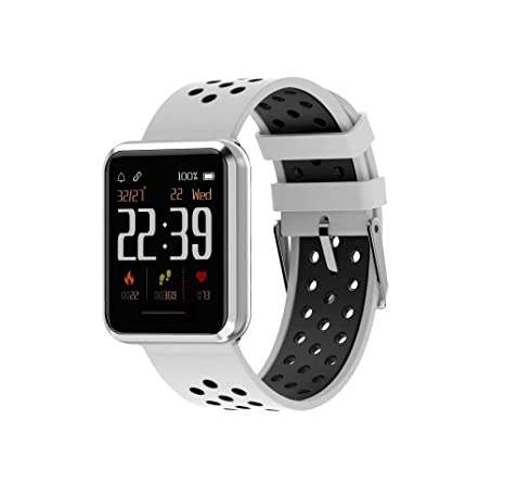 Bbiao Reloj inteligente deportivo Pulsera de fitness Ritmo ...
