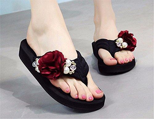 Verano flip sandalias de playa flops zapatillas dama b FLYRCX sandalias sandalias elegante gdq711w