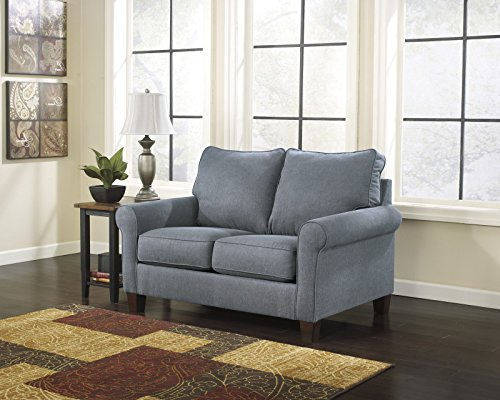 Signature Design by Ashley Zeth Sleeper Sofa, Twin, Denim