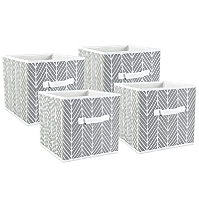 DII Fabric Storage Bins for Nursery, Offices, Home Organization