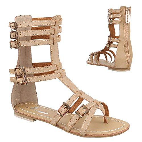 Ital-Design - Sandalias / Sandalias Mujer Beige - beige