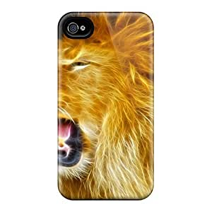 Iphone Case - Tpu Case Protective For Iphone 4/4s- Lion by mcsharks