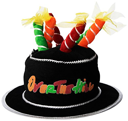 Beistle 60696-50 Plush Over The Hill Cake Hat, One Size Fits Most ()