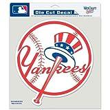 New York Yankees Decal 8x8 Die Cut Color Prime