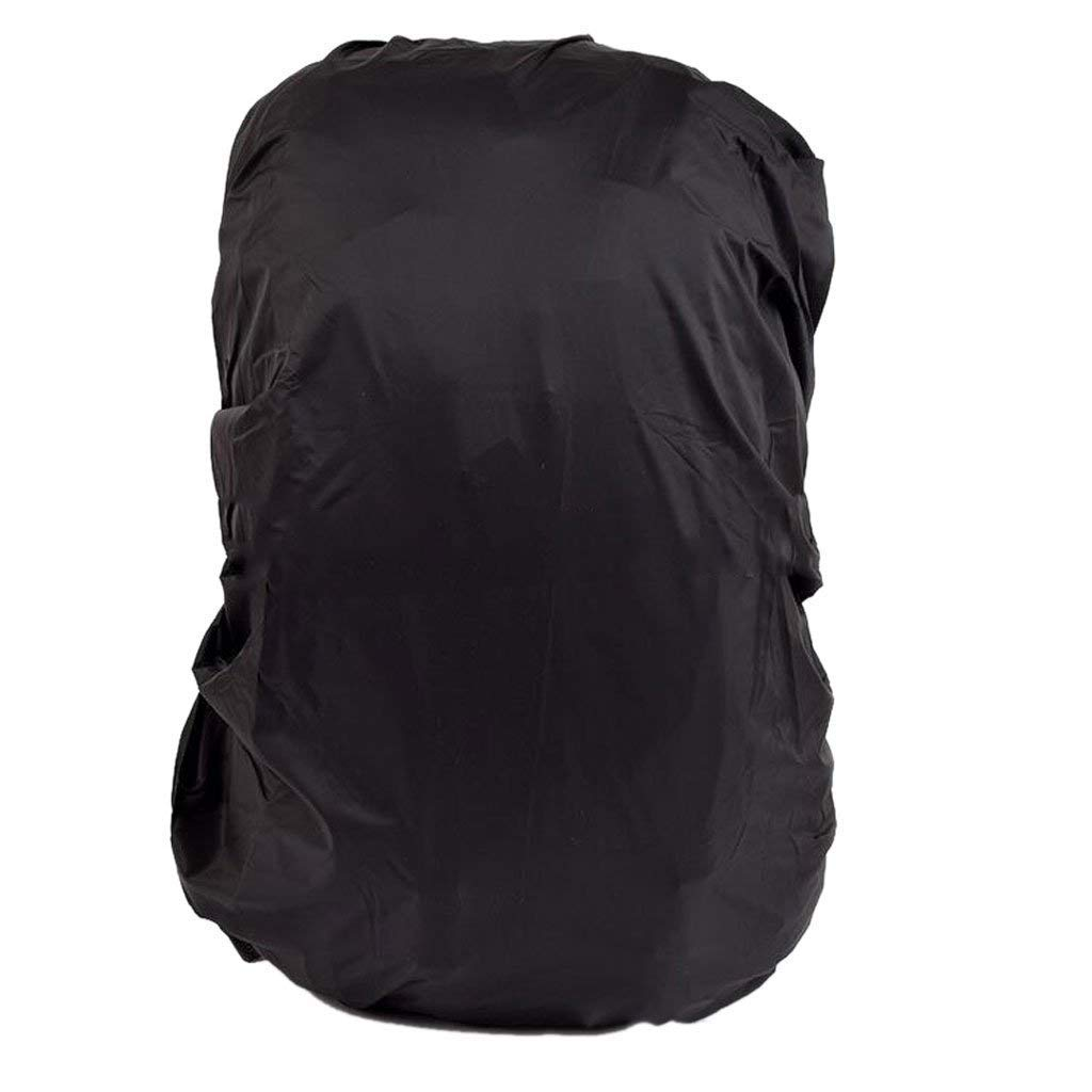 TrifyCore Mochila Impermeable Protector de Lluvia Mochila Trekking Viaje a Prueba de Polvo 30L-40L Camping 30L-40L Negro