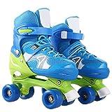 ANCHEER T8 Kid Roller Skates Quad for Kids Girls/Boys