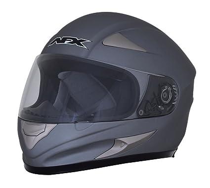 AFX fx-90e Frost Gray full face casco de moto, color gris ...