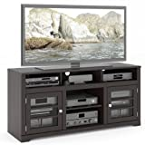 Cheap Sonax TWB-206-B West Lake TV Stand Component Bench Media Storage Unit in Mocha Black, for TV Up To 68″