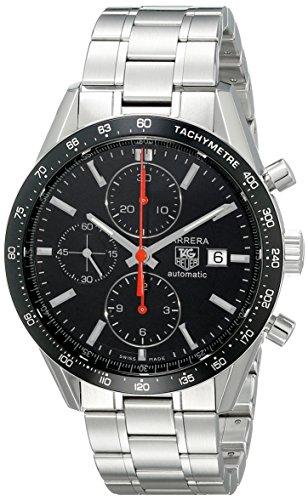 TAG Heuer Men's THCV2014BA0794 Carrera Black Guilloche Dial (Black Guilloche Dial)