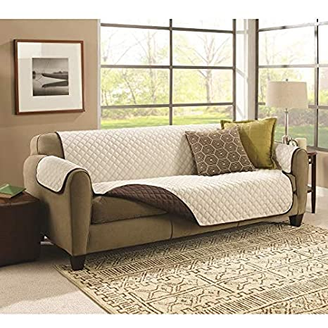 Couch Coat Funda para Sofá de Doble Cara 2 plazas Reversible ...