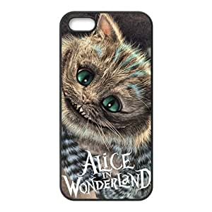 ORIGINE Alice In Wonderland Fashion Comstom Plastic case cover For Iphone 5s
