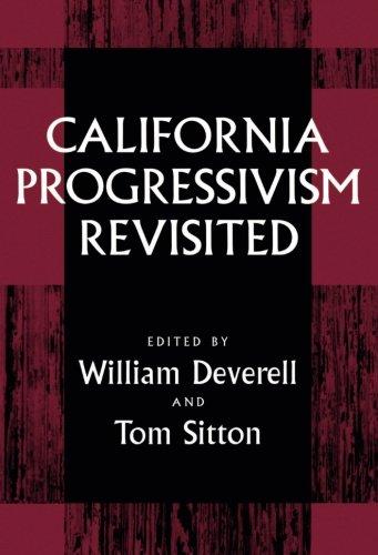 California Progressivism Revisited