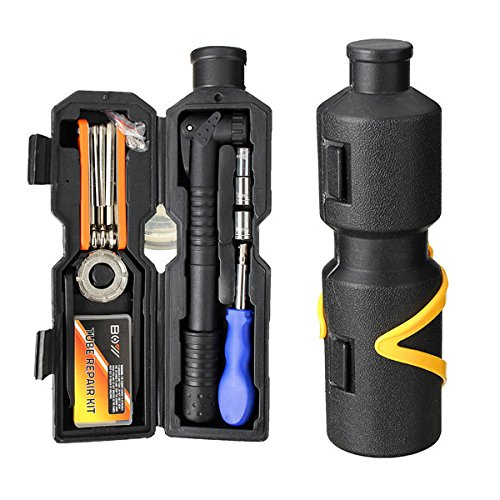 Bike Bicycle Repairing Tool Kit Set Multi Tools Portable Tool Case For Outdoor Cycling Refix