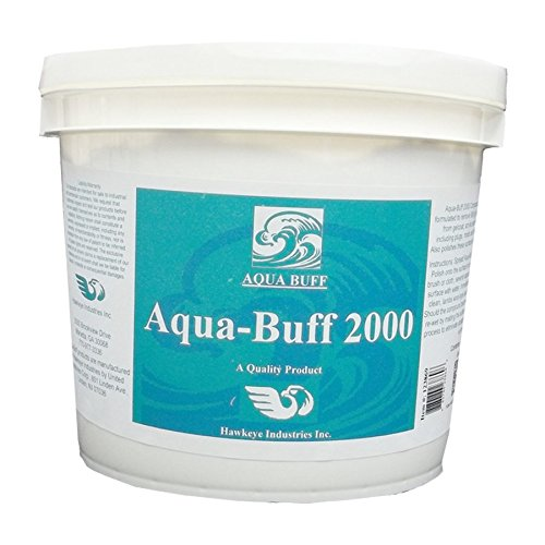Aqua Buff 2000 ONE Step Buffing & POLISHING Compound, Fiberglass Coatings, Inc, DIY, Boat, Gel Coat, CAR Paint, AUTO, Metal, Aluminum, Professional Grade for Professionals, 1 Gallon