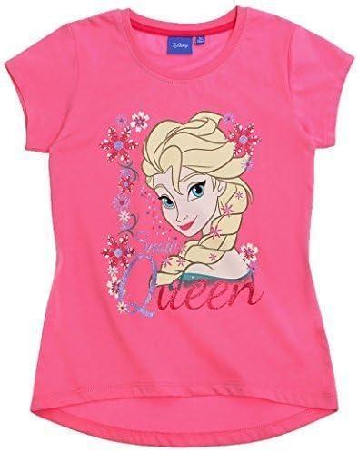T Shirt Manches Courtes Fille La Reine des Neiges
