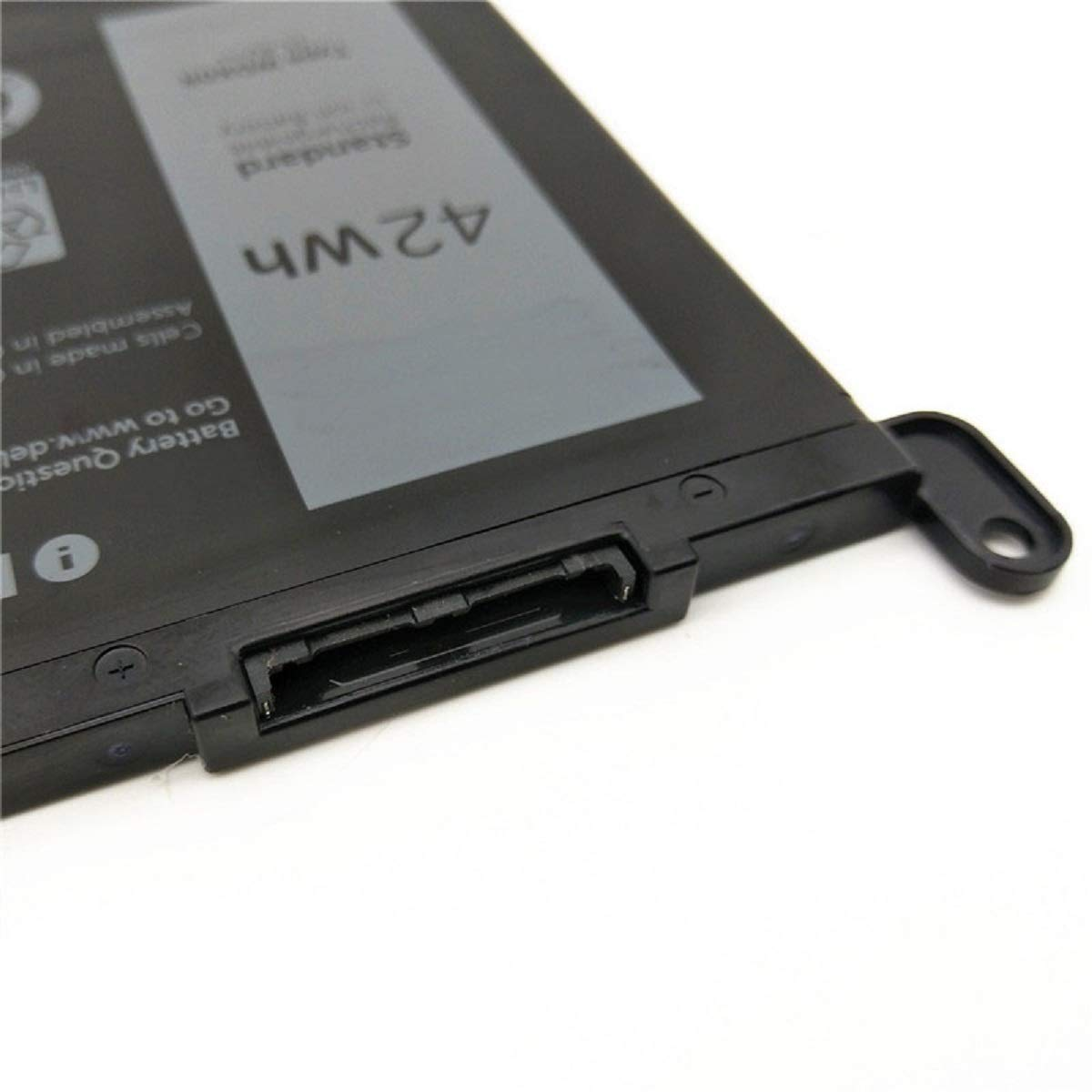 Dentsing 42Wh WDX0R Laptop Battery For DELL Inspiron 15 5568 7560 5567 / 13 7368 Series / Inspiron 13 5378 14-7460 / Dell Inspiron 17-5770 Inspiron 13 5379 Inspiron 15 7570 WDXOR by Dentsing (Image #3)