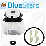 Ultra Durable 285811 Medium Agitator Repair Kit Replacement by Blue Stars - Exact Fit for Whirlpool & Kenmore Washers - Simple Instructions Included - Replaces 3363663 AP3138838 PS334650