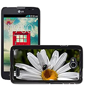 Etui Housse Coque de Protection Cover Rigide pour // M00134631 Vuela Marguerite flora Naturaleza // LG Optimus L70 MS323