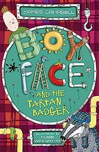 book cover of Boyface and the Tartan Badger