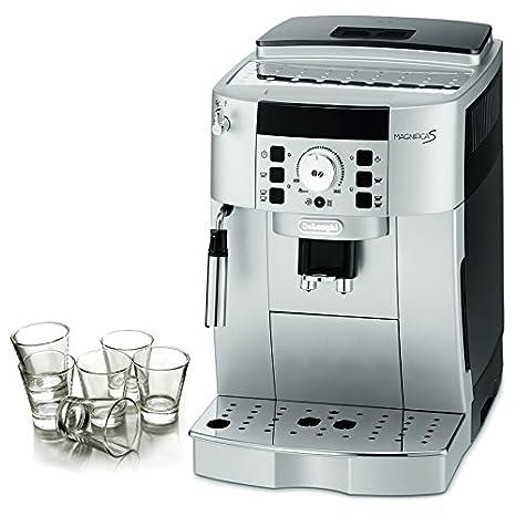 Amazon.com: DeLonghi Magnifica XS Silver Super Espresso ...