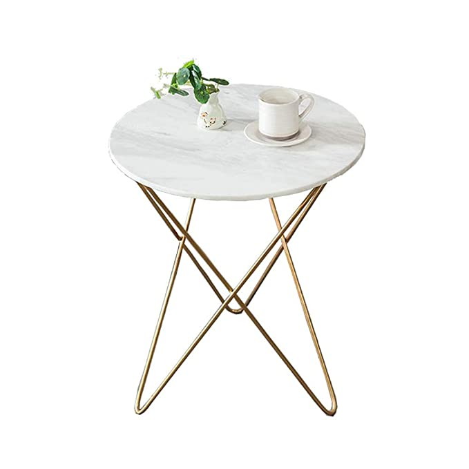 Amazon.com: XMGJV Small Tea Table Side Wrought Iron Living ...