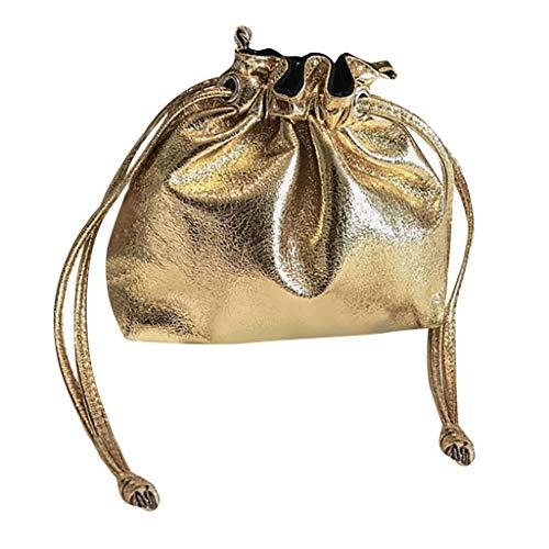 XLnuln Women's Fashion Messenger Bags Wild Diagonal Bag Shoulder Bag Outdoor Bucket Bag Bundle ()