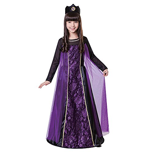 Totally Ghoull Evil Queen Costume, Girl's Size Small (The Evil Queen Costume)