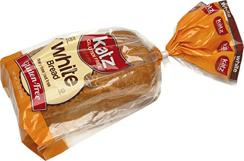 Katz Gluten Free White Bread, 21 Ounce, Certified Gluten Free - Kosher - Dairy & Nut free - (Pack of 1) (Low Carb Gluten Free Bread compare prices)