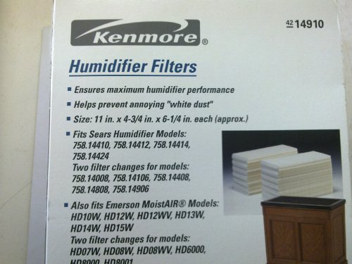 14910 Kenmore Humidifier Replacement Filters