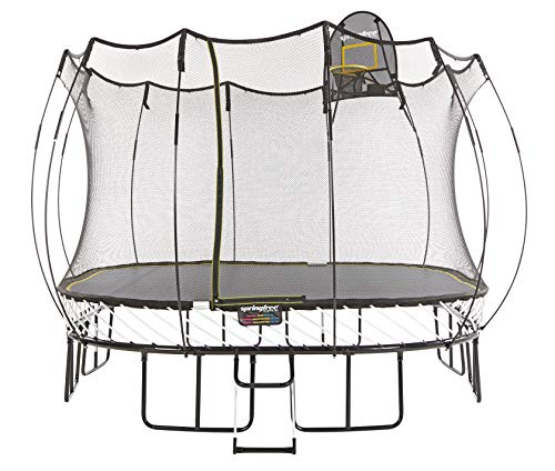 Springfree Trampoline - 11ft Large Square Trampoline With...