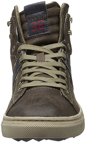 Mustang 4108-502, Zapatillas Altas para Hombre Marrón (3 braun)