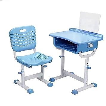 Skiout Juego de sillas de Escritorio para niños, Altura Ajustable ...