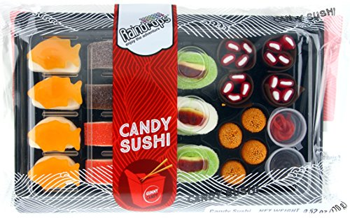 raindrops candy gummy sushi bento box buy   uae grocery products   uae