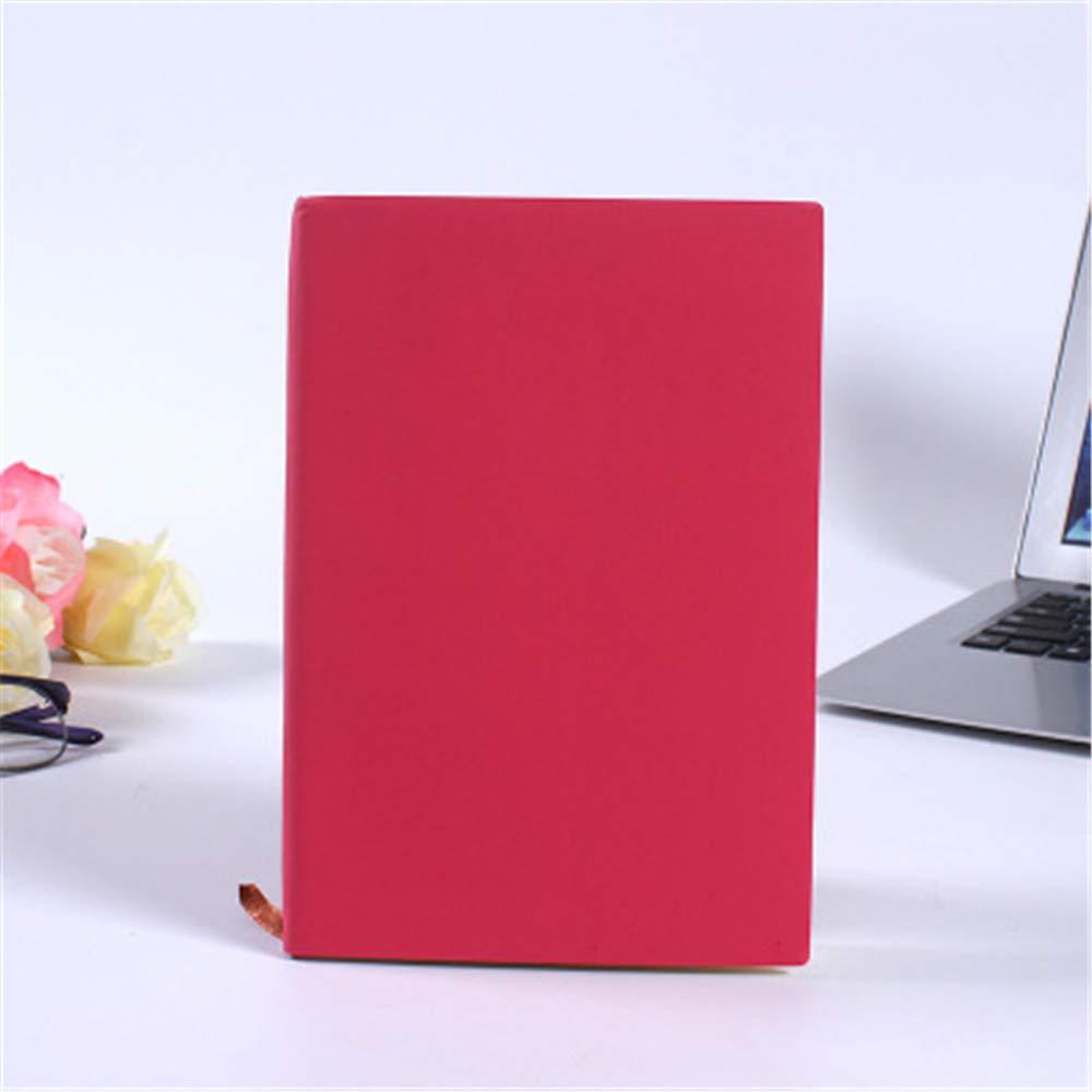 Cuaderno de cuero suave - Cuaderno A5 con puntos y anillo de ...