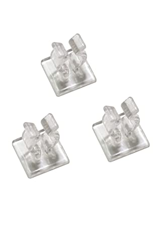 25ct mini christmas light indoor adhesive clips