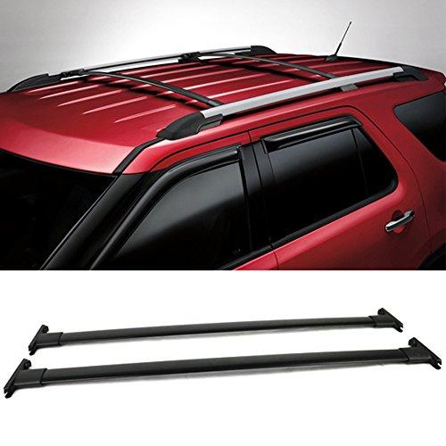 Explorer Roof Rack - 11 12 13 14 15 Ford Explorer Roof Rack Cross Bar Black 2PC