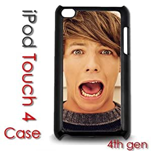 Diy For Touch 5 Case Cover Plastic Case - Louis Tomlinson One Direction 1d boy band hot cute