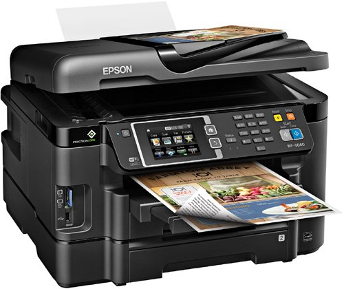 Epson Workforce Wf 3640 Wireless Color All In One Inkjet