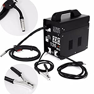 New Auto Feeder MIG130 Gasless Flux Core Wire Welder Welding Machine Cooling Fan
