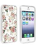iphone 5 case vintage floral - iPhone SE/5/5S Case Ultra Slim Protective Cover for iPhone 5 Vintage Floral Design