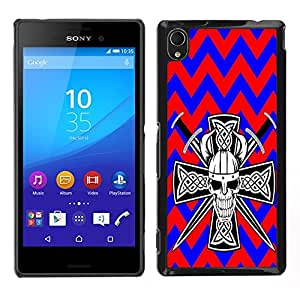 Dragon Case - FOR Sony Xperia M4 Aqua - Weeping with the smile? - Caja protectora de pl??stico duro de la cubierta Dise?¡Ào Slim Fit