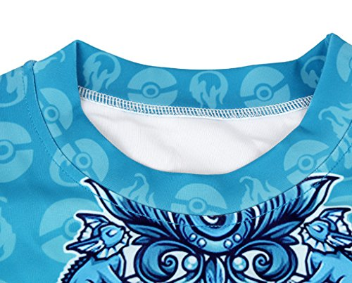 Thenice - Sudadera - Animal Print - Cuello redondo - para mujer Ninja