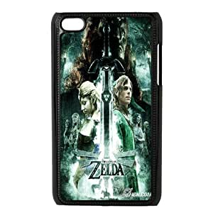 Ipod Touch 4 Csaes phone Case The Legend of Zelda SED93180
