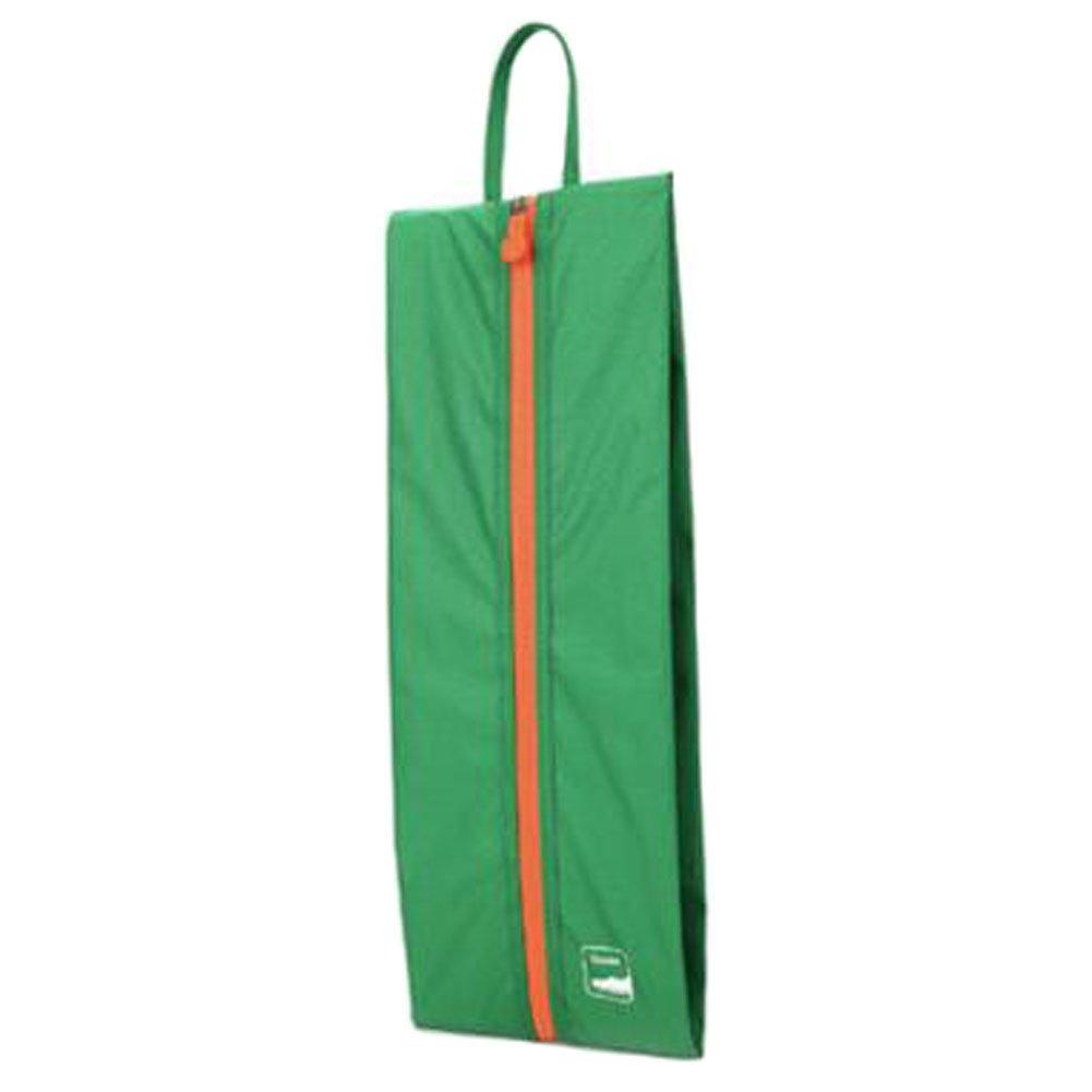 ポータブル靴バッグトートポーチ靴オーガナイザーケースストレージバッグジッパー付き、グリーン   B06XDLJHQK