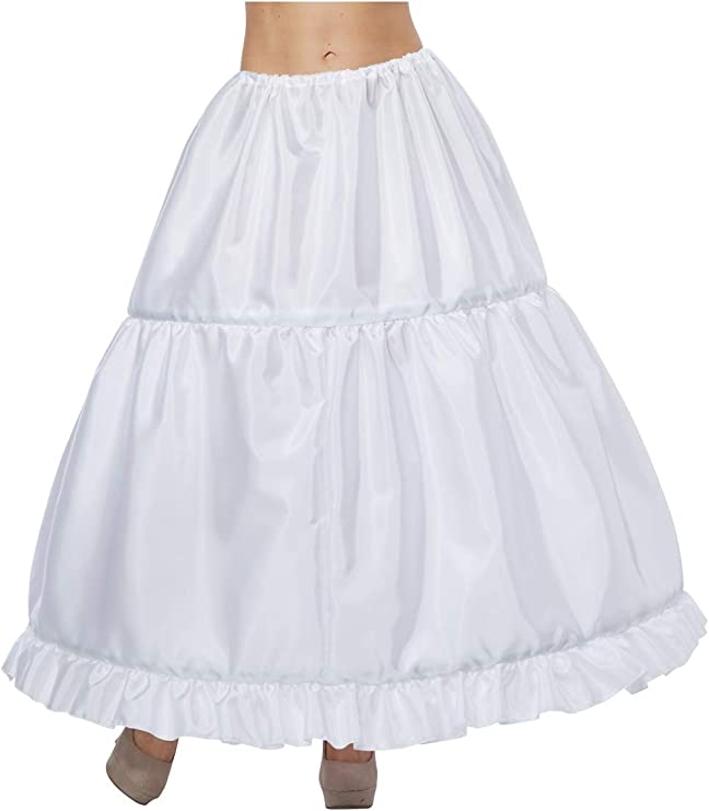 Victorian Lingerie History – Corset, Chemise, Petticoats California Costumes Womens Hoop Skirt - Adult Woman Adult Costume Black One Size $17.62 AT vintagedancer.com