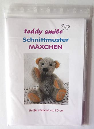 teddy smile - Schnittmuster Teddy \
