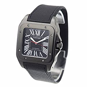 Cartier Santos Carbon Men's Watch WSSA0006