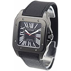 Cartier Santos Carbon Men's Watch WSSA0006