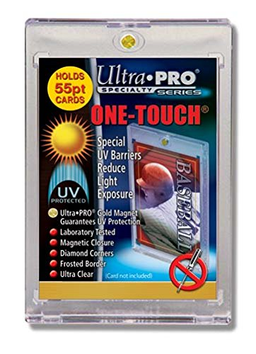 1 (One) 55pt One-Touch Card Holder