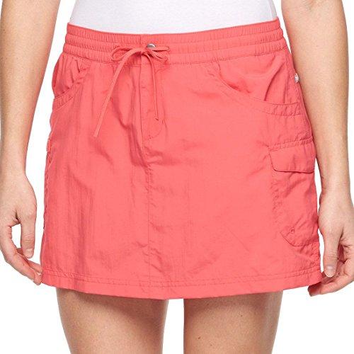 - Columbia Women's Amberley Stream Cargo Skort Skirt Size XS Bright Geranium